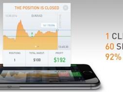 1 click, 60 secondes, des profits de 92%