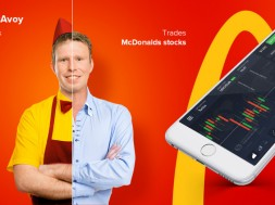 McDonald Stocks IQOption