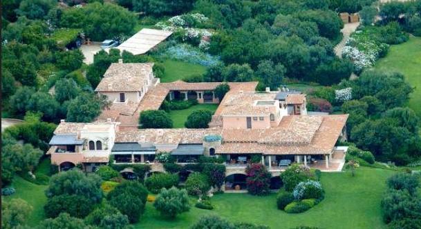 Villa Certosa, ancienne propriété de Mussolini