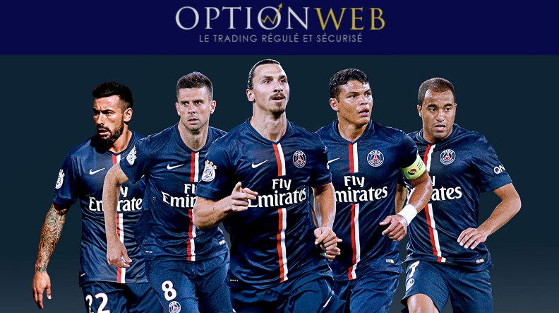 Partenariat avec le PSG : l'un des piliers du marketing d'OptionWeb