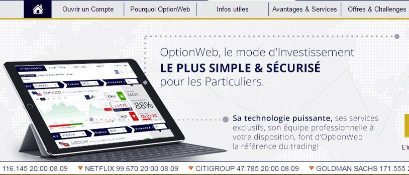OptionWeb : le leader du marché français dans les options binaires ?