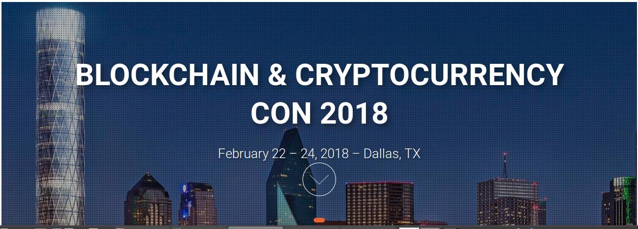 Conférence internationale sur les Blockchains et les Crypto-monnaies : Texas 22 au 24 février
