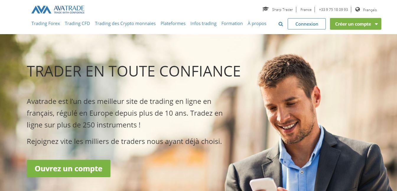 Opérateur AvaTrade, avis sur le broker Forex