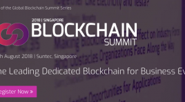 Blockchain Summit 2018 : de Singapour à Londres !