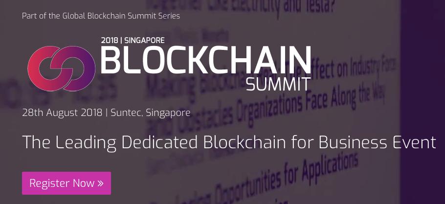 Blockchain Summit 2018 : de Singapour à Londres !