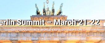 Le Sommet de Berlin: La crypto conférence World Expo, une démarche nécessaire