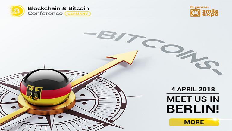 Participez à la Conférence Blockchain et Bitcoin de Berlin du 04 Avril 2018